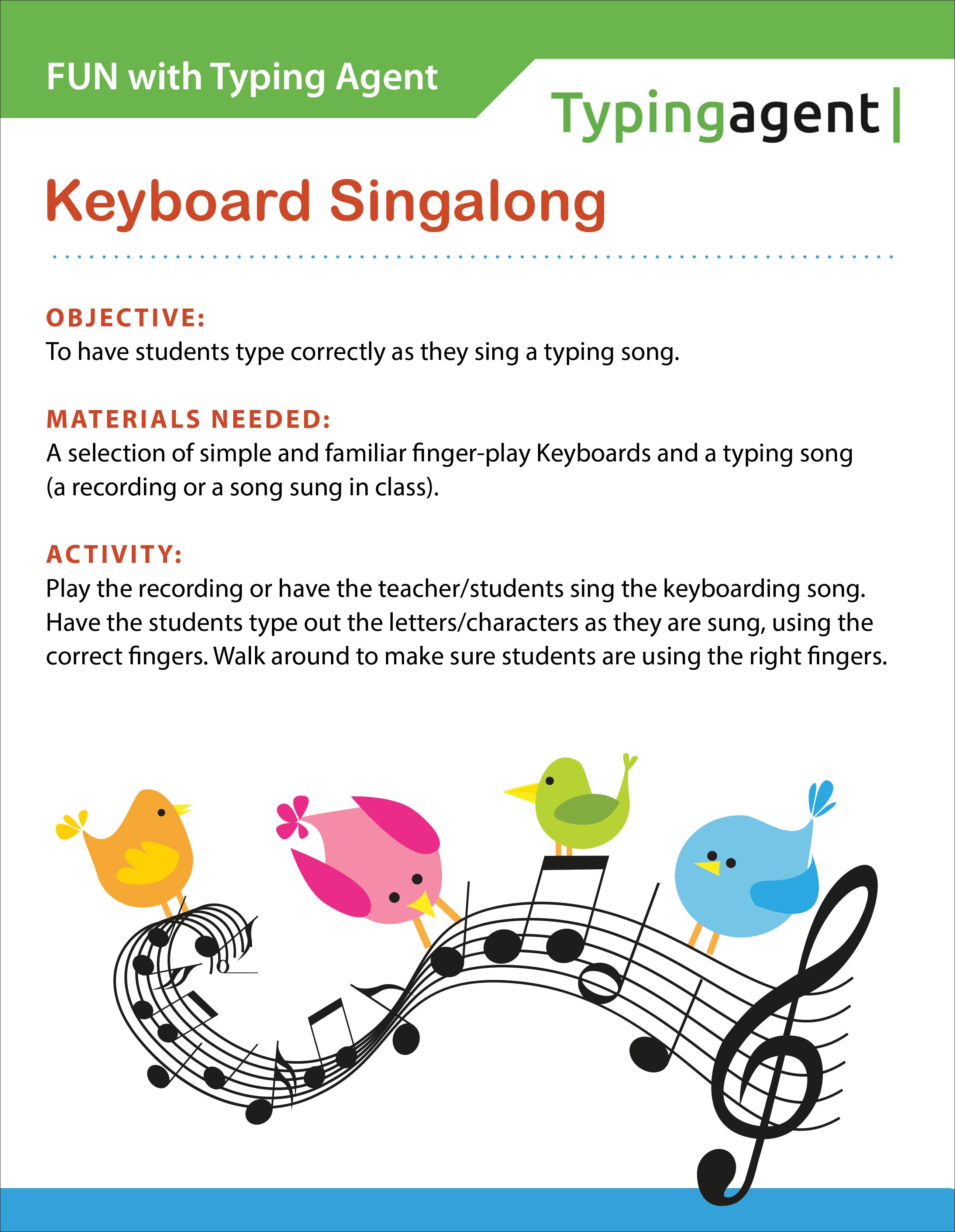 Typing Agent's K2 Offline Typing Activities
